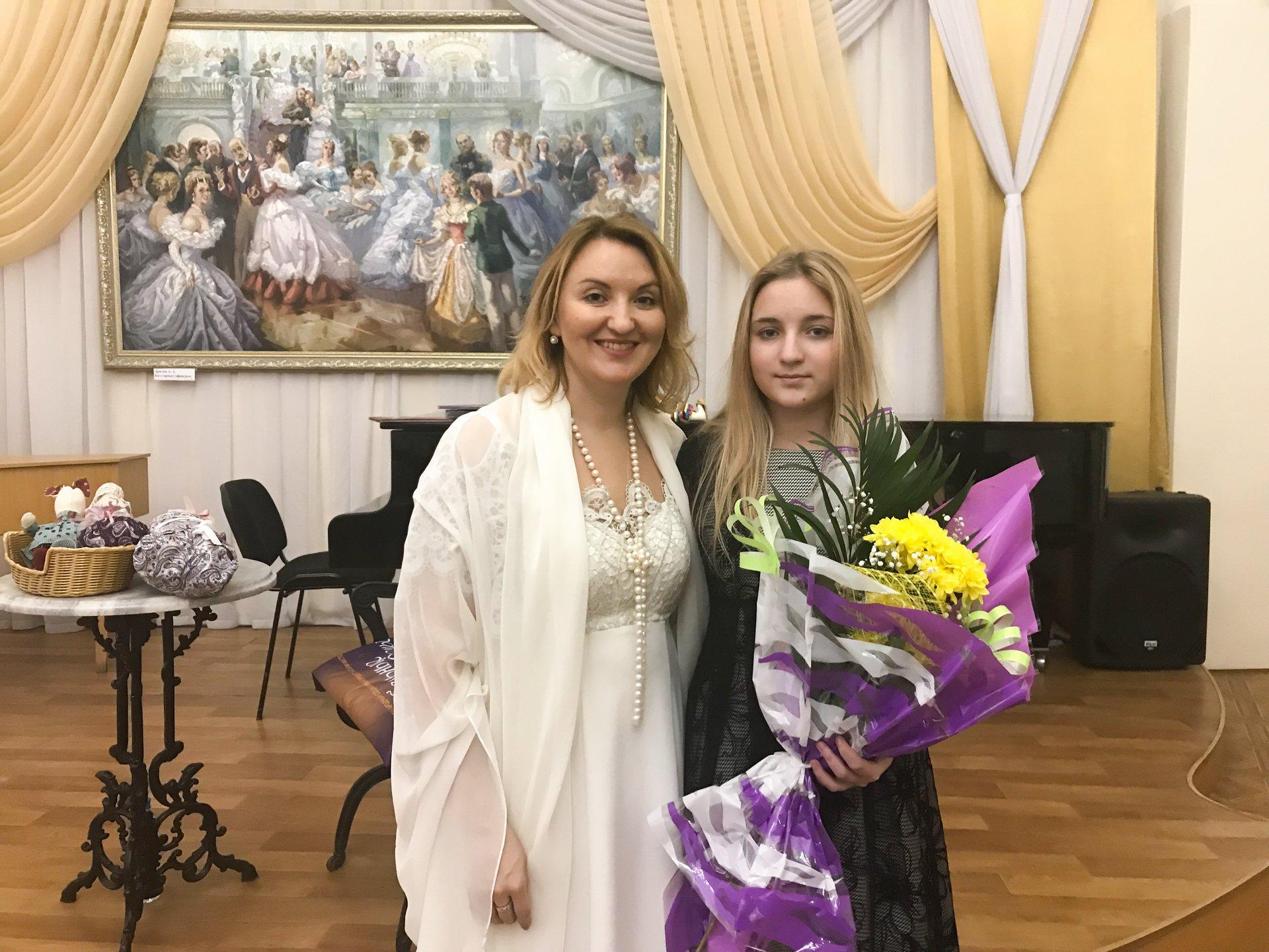 Наталия Фаустова и Анна Еремина