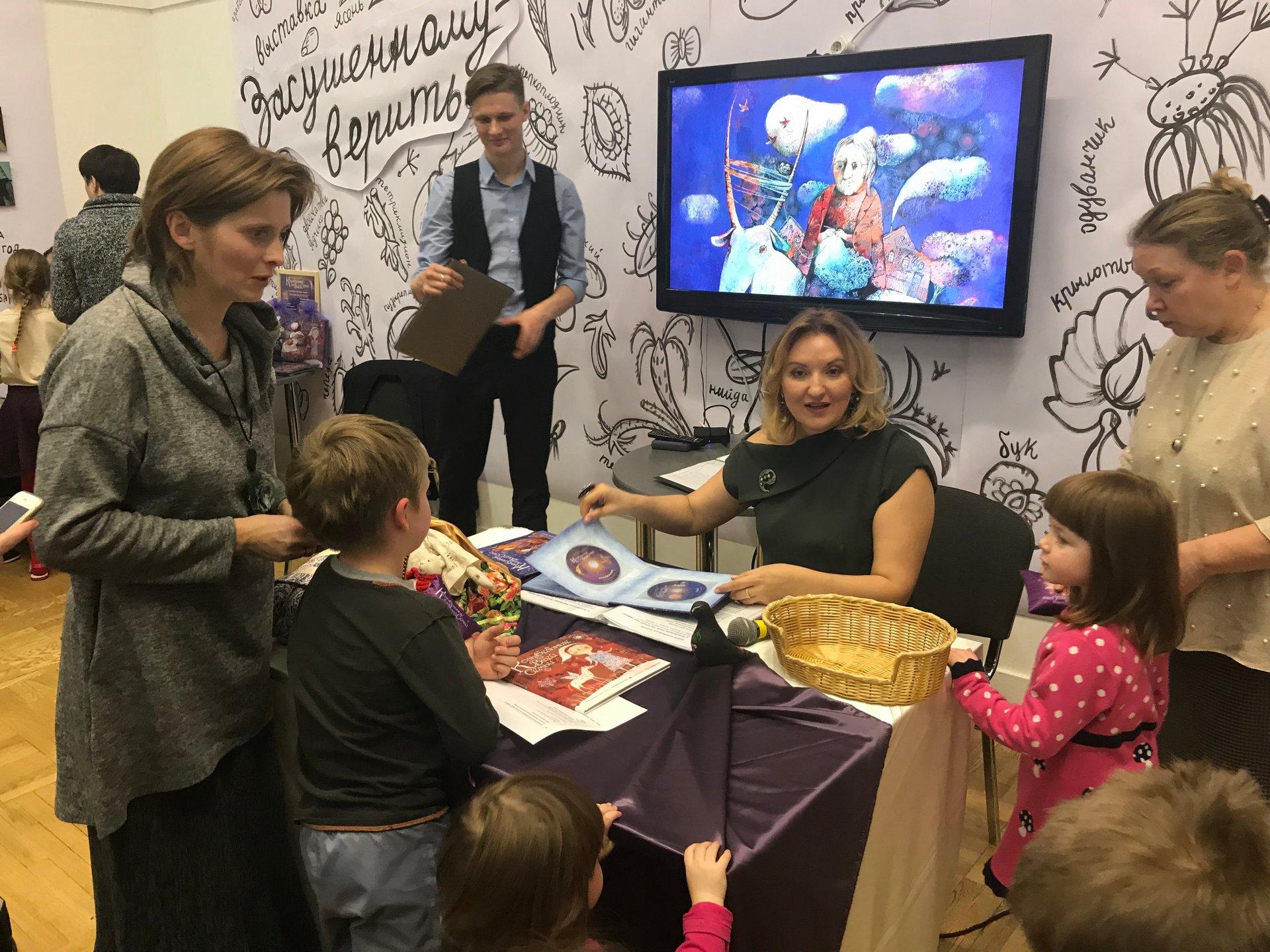 Концерт Наталии Фаустовой на non-fiction
