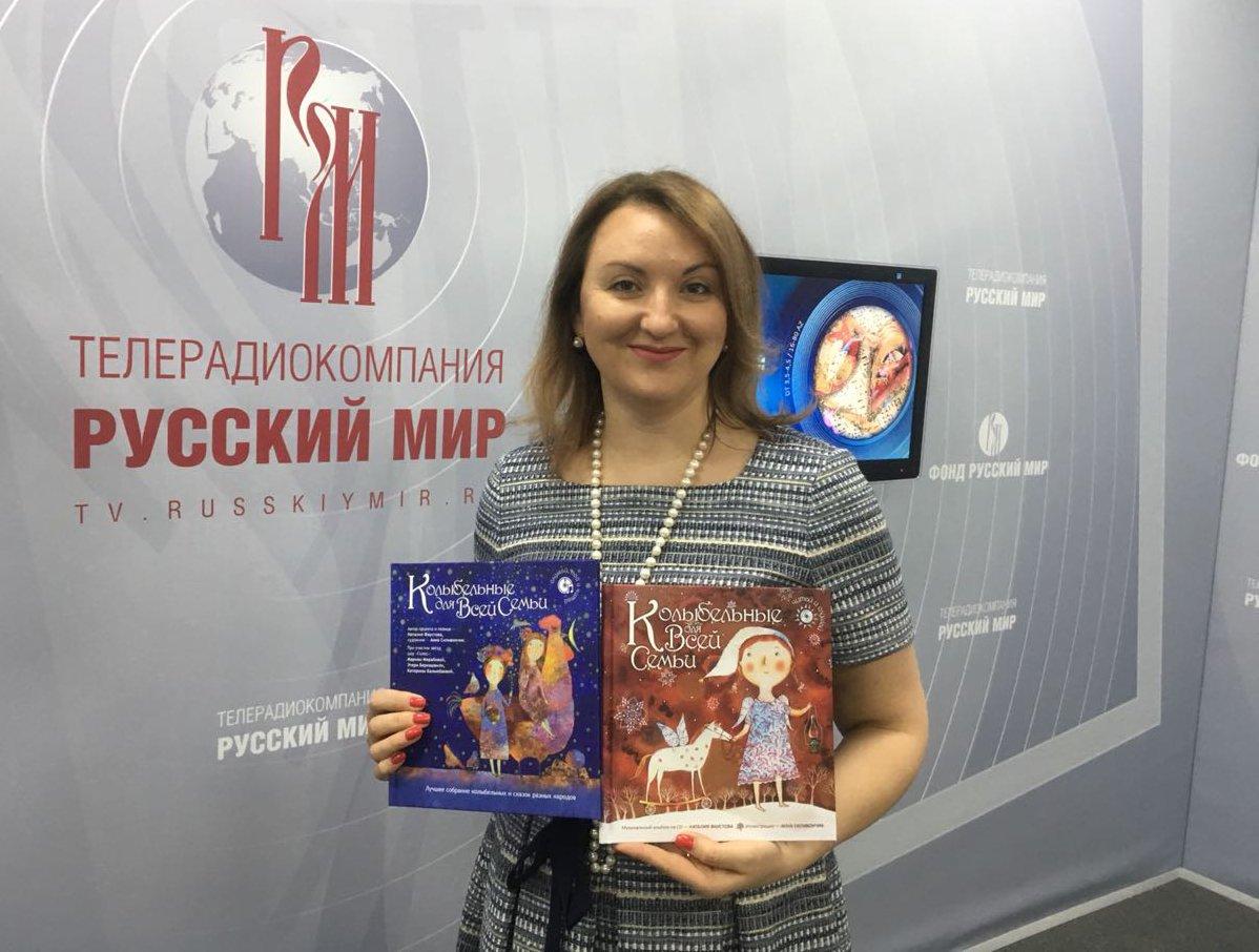 Наталия Фаустова на программе Культурный слой
