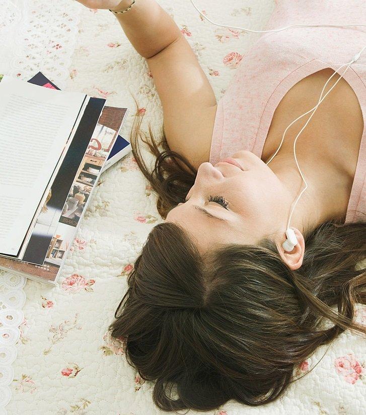 отдых для мамы под музыку
