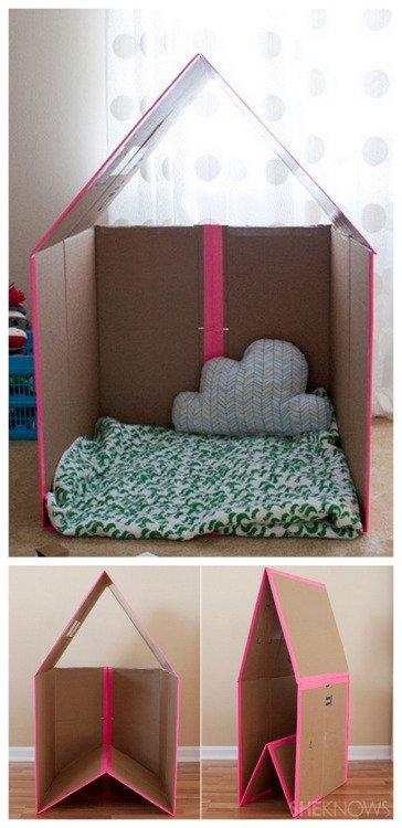 домик из картона - мк