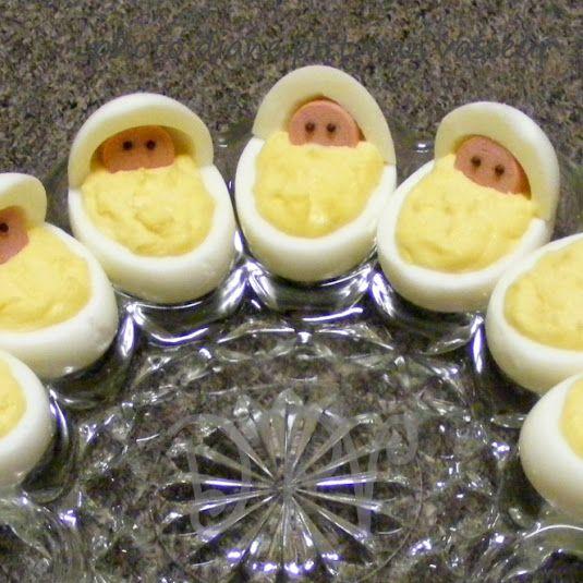 колыбелька из яиц, рецепт