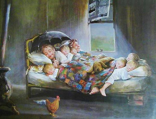 как успокоить малыша перед сном