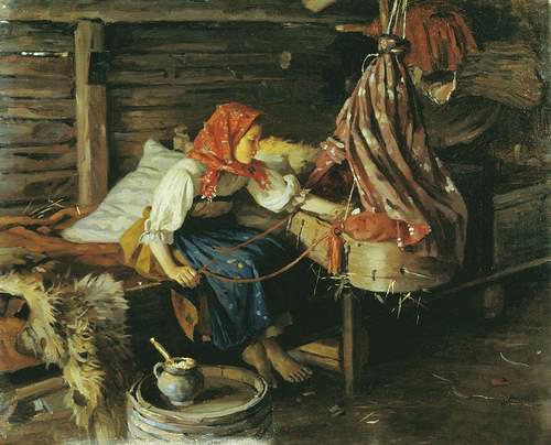 колыбельные в фольклоре