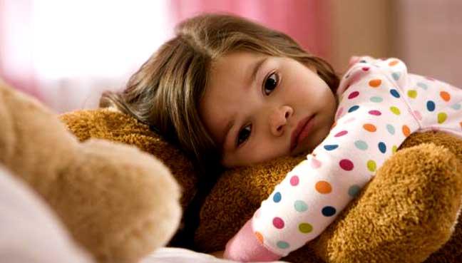 ребенок не спит